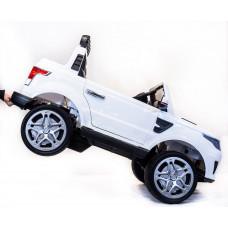 Двухместный детский электромобиль Land Rover XMX 601, с резиновыми колёсами и пультом управления