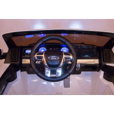 Детский электромобиль Ford Ranger F650 4x4, ПОЛНЫЙ ПРИВОД, с резиновыми колёсами и пультом управления