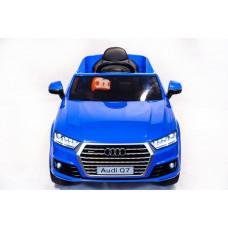 Детский электромобиль Audi Q7, с резиновыми колёсами и пультом управления