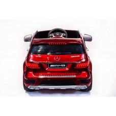 Детский электромобиль Mercedes-Benz GL63 AMG, с резиновыми колёсами и пультом управления