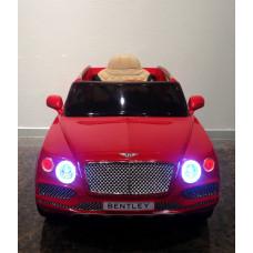 Детский электромобиль Bentley Bentayga, с резиновыми колёсами и пультом управления