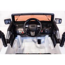 Детский электромобиль Jeep SH-888, задний привод, с резиновыми колёсами и пультом управления
