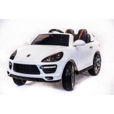 Детский электромобиль Porsche Cayenne SH-808, с резиновыми колёсами и пультом управления