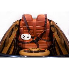 Детский электромобиль Porsche Macan QLS-8588, с резиновыми колёсами и пультом управления