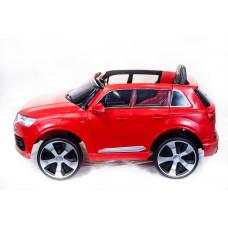 Детский электромобиль Audi Q7 QUATTRO LUX, с резиновыми колёсами и пультом управления