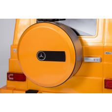 Детский электромобиль Mercedes-Benz G55, с резиновыми колёсами и пультом управления