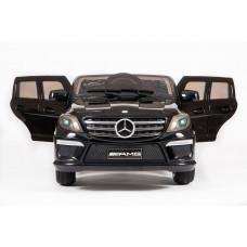Детский электромобиль Mercedes-Benz ML63, с резиновыми колёсами и пультом управления