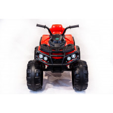 Детский электрический квадроцикл Grizzly 0906, задний привод, массивные колеса с амортизаторами