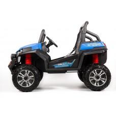 Детский электрический квадроцикл BUGGY F007 4x4, ПОЛНЫЙ ПРИВОД, резиновые колеса и пульт управления