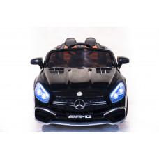 Детский электромобиль Mercedes-Benz SL65 AMG, с резиновыми колёсами и пультом управления