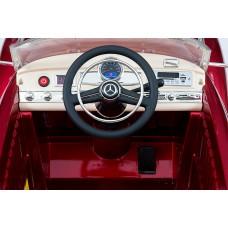 Детский электромобиль Mercedes-Benz 300S, с резиновыми колёсами и пультом управления