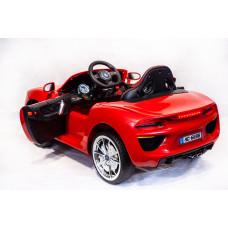 Детский электромобиль BMW HC-6688, с резиновыми колёсами и пультом управления