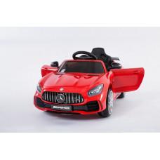 Детский электромобиль Mercedes-Benz GTR, с резиновыми колёсами и пультом управления